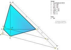 Geometry Problem 1041: Quadrilateral, Perpendicular, Diagonals, Congruence, Metric Relations