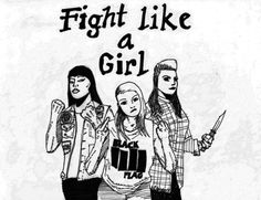 californiapunk:  Fight Like a Girl by Alex Ramirez