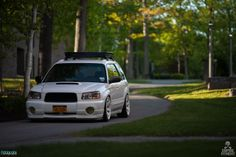 *Good Lord! We are loving this. #Subaru #Forester #XT looking mean, clean and ready. Via: #EmpireFitment