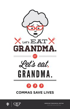 """Let's Eat Grandma poster"" forThe Southern Baptist Theological Seminary by The Southern Baptist Theological Seminary.Eric Rivier Jimenez — Creative Director | Andrea Stember — Art DirectorDaniel Carroll — Graphic Designer"