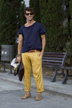 Pantalon Mostaza