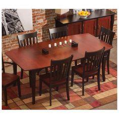 Conrad Grebel Montclair Dining Table Table Finish: Oak - Auburn