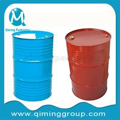 55 gallon or 200L steel drum with lids steel barrel-qiming packaging  (4)