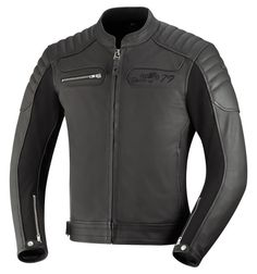 QUENTIN Leather Motorcycle Jacket - Spirit of 79 - iXS Motorcycle Fash | Motorcycles & Gear