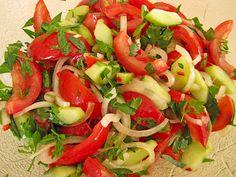 Türkischer Tomatensalat