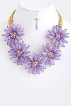 Blossom Statement Necklace from The Shopping Bag