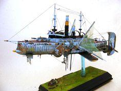 """Davion Alex : Steampunk Battleship """"Dawn Treader"""""""