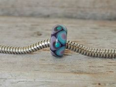 Guarda questo articolo nel mio negozio Etsy https://www.etsy.com/listing/486308239/lampwork-bead-wide-hole-handmade-by
