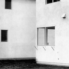 Lewis Baltz. Love the simplicity of the image as well as the amazingly simple composition.