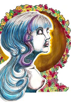 przesilenie jesienne (watercolor, ink)