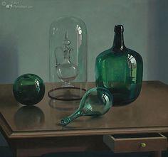 Henk Helmantel (Dutch, born 1945) - oil painting
