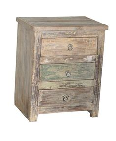 White Washed End Tables