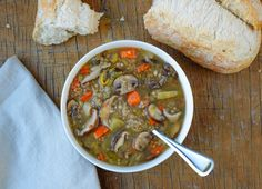 THE SIMPLE VEGANISTA: Mushroom & Buckwheat Soup.  Looks delish for a cold autumn day.