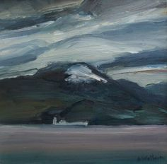 Scottish Artist Alma WOLFSON - Bel-na-hua Lighthouse