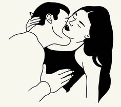 Sexy Drawings, Couple Drawings, Art Drawings, Relationship Goals Pictures, Vector Portrait, Rainbow Art, Instagram Highlight Icons, Couple Art, Beautiful Artwork