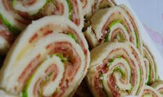 Mini Rocamboles de Pão de Forma              -  Na Cozinha da Margô: