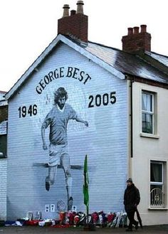 George Best Mural East Belfast