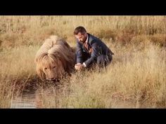 LION MAN KEVIN RICHARDSON .... PLAYING WITH LIONS - YouTube Tiger Attack, Dog Attack, Pin Man, Kevin Richardson, Indian Navy, Modern Gentleman, Ghost Stories, Special Forces, Real Man