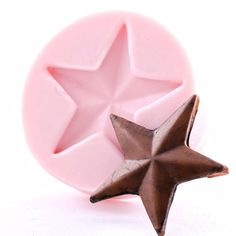 Western Star Mold  Texas star fondant mold  by MoldMeShapeMe, $6.75