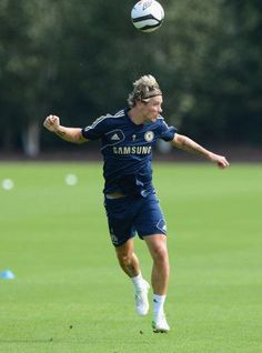 Fernando Torres at Chelsea training :) #9 #ChelseaFC <3