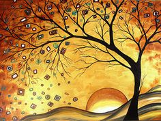 This print was created from an original painting by Megan Aroon Duncanson. She has a distinct flair for modern/contemporary art. Her style and use of color are unmistakable. Bright, rich color and abstract composition draw the viewer in for a long-lasting enriching experience. Artist Raising, art.com