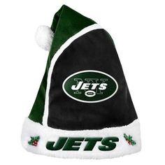 0dec754f9 New York Jets 2015 NFL Football Team Logo Holiday Plush Basic Santa Hat.  Warm Winter