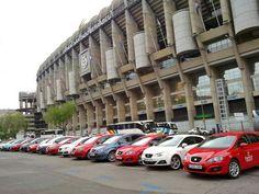 Seat en el Bernabéu