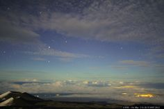 A mid-day view of the stars: Above the clouds in Hawaii! (click the image to view live webcam) http://www.facebook.com/truelook