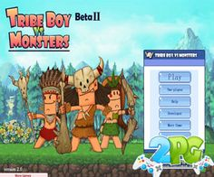 In the strange and epic battle boy of Tribe Boy versus Monsters, who will be victorious? Represent the human side and assist these brave warriors to defeat all monsters on screen.