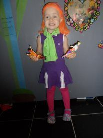 Daphne Blake from Scooby Doo costume