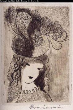 Marie Laurencin    Roseal hat    1924