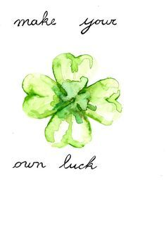 four leaf clover outline - Google Search