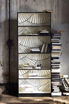 Wallpaper - Bookshelf Ideas - Living Room  Study Design Ideas (houseandgarden.co.uk)