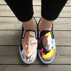 7 Best Anime Collection Slip On Drawing Shoes images Slip  Slip
