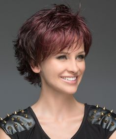 Red Head Short Layered Pixie Haircuts for Women
