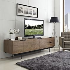 A modern credenza expertly made in a vintage style.
