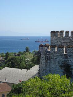 Yedi Kule and the Bosphorus.... wow