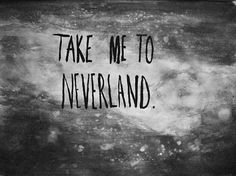 background, black and white, neverland, tumblr, wallapaper