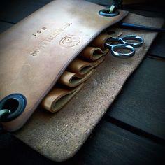 Leather Belt Case Barber of Seville Eduard di OfficinaitalianaTWL
