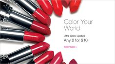 Color your word - AVON Ultra color lipsticks any 1 for $10! CLICK For More Avon Sales! http://thinkbeautytoday.com/avon-2016-brochures/avon-catalogs/