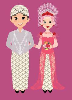 Traditional Wedding Invitation from Minangkabau West Sumatra,SUNTIANG Traditional Wedding Invitations, Simple Wedding Invitations, Wedding Invitation Design, Wedding Thank You Postcards, Wedding Cards, Diy Wedding, Wedding Icon, Minangkabau, Indonesian Wedding