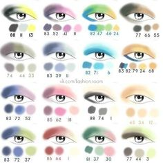 eyeshadow colors