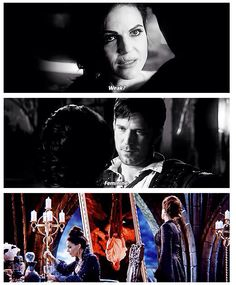 """Weak ?"" ""Feminine."" Regina and the Sheriff"