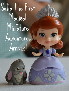Sofia The First Magical Miniature Adventures Arrives! Princess toys for girls review. Disney princess ideas for gifts and presents. Collectable Disney Princess toy review