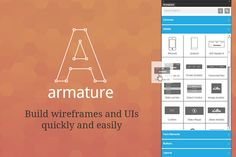 Check out Armature - drag-n-drop wireframing by Greygoo on Creative Market