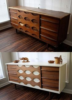 43 trendy mid century modern furniture redo before after paint Thrift Store Furniture, Refurbished Furniture, Repurposed Furniture, Furniture Projects, Furniture Makeover, Cool Furniture, Painted Furniture, Modern Furniture, Antique Furniture