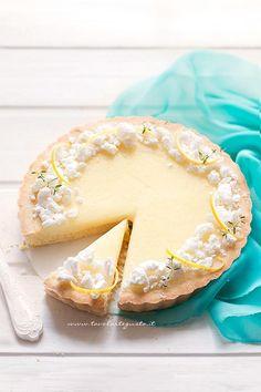 Ricetta Crostata al limone - (Crostata con crema al limone )