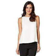 3b0ab7d0aa1 Luxe Sleeveless Top - White · AustraliaTopsOutfitsClothesWoven FabricWork  WearTargetOutfitOutfit