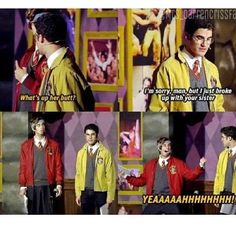 loved this scene AVPSY Harry and Ron - Joey Richter and Darren Criss - starkid