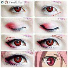 of Inevelichka Check out this awesome cosplayer for step by step makeup tutorials Lenses used :red Manson from our Halloween series Krul Tepes Makeup Tutorial A very big thanks to Shiroi Neko for sponsoring me this amazing and stunning lenses! Anime Eye Makeup, Anime Cosplay Makeup, Costume Makeup, Makeup Art, Beauty Makeup, Diy Makeup, Anime Makeup Tutorial, Cosplay Makeup Tutorial, Make Up Tutorial Contouring